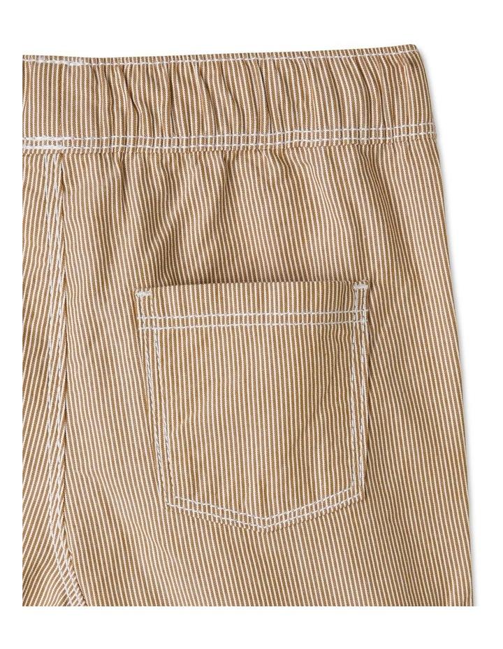 Essential Drawstring Yarn-Dye Shorts image 4