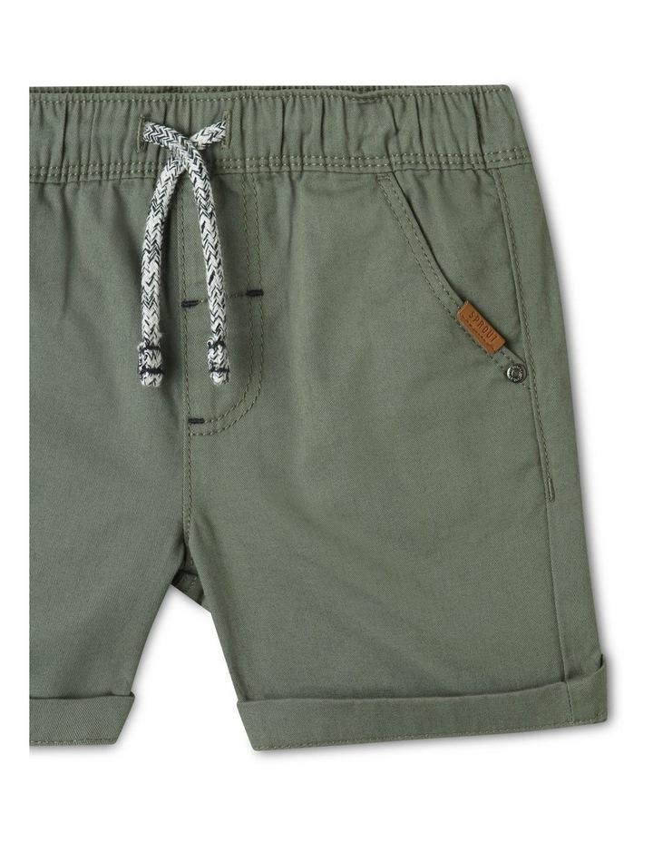 Essential Shorts Khaki image 2