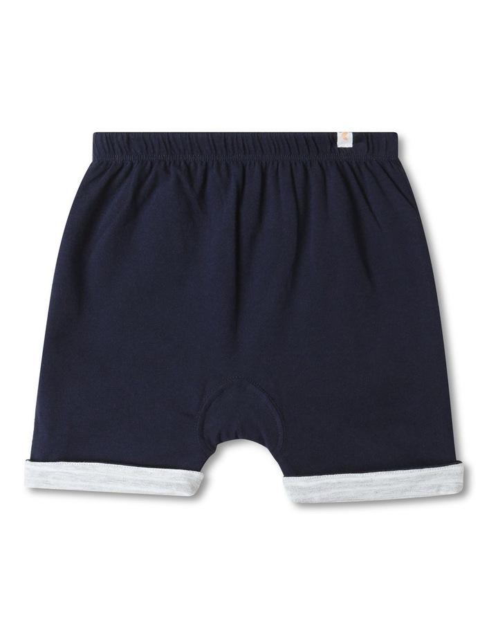 Organic Essential Reversible Shorts Dark Blue image 1