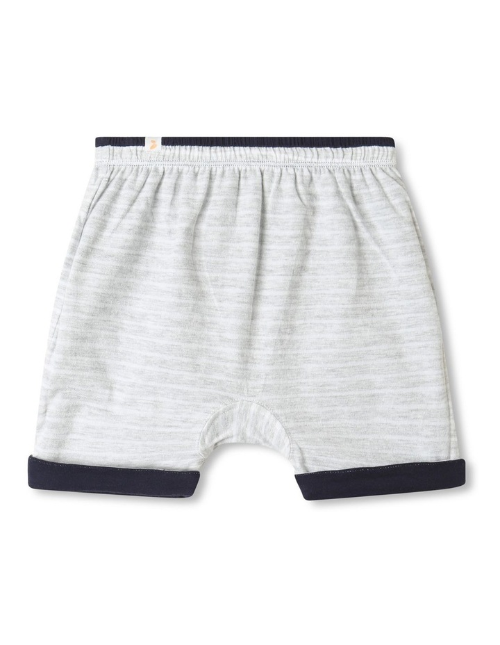 Organic Essential Reversible Shorts Dark Blue image 2