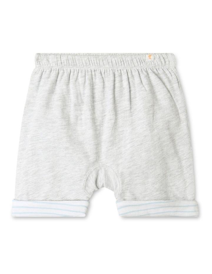 Organic Essential Reversible Shorts Grey image 1