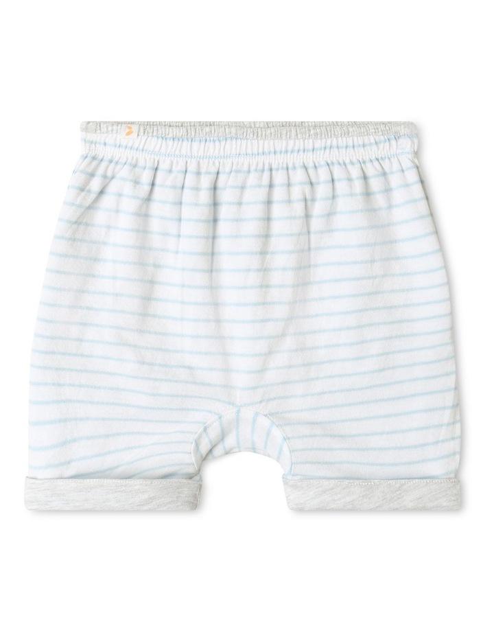 Organic Essential Reversible Shorts Grey image 2