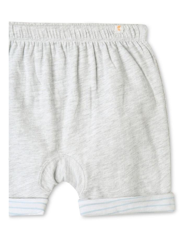 Organic Essential Reversible Shorts Grey image 3