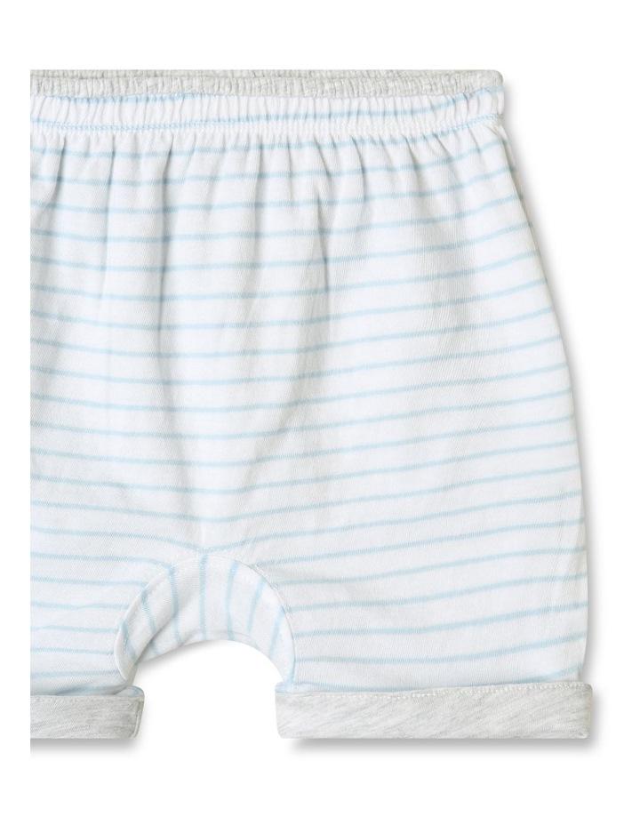 Organic Essential Reversible Shorts Grey image 4