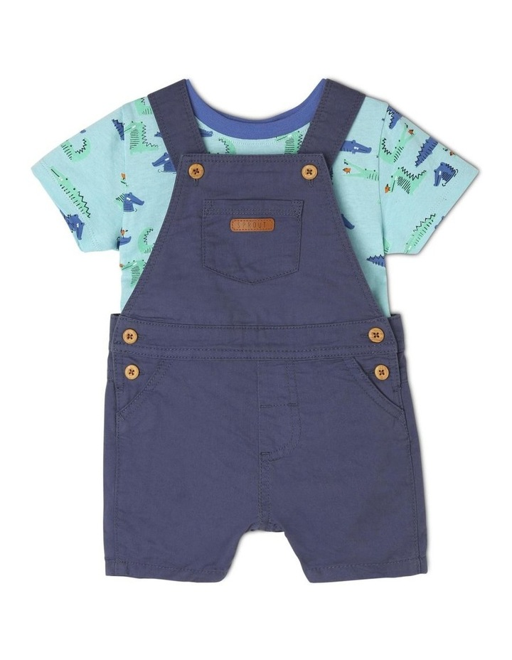 Boys Overall And T-Shirt Set image 1
