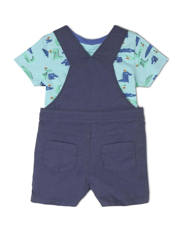 Boys Overall And T-Shirt Set image 2