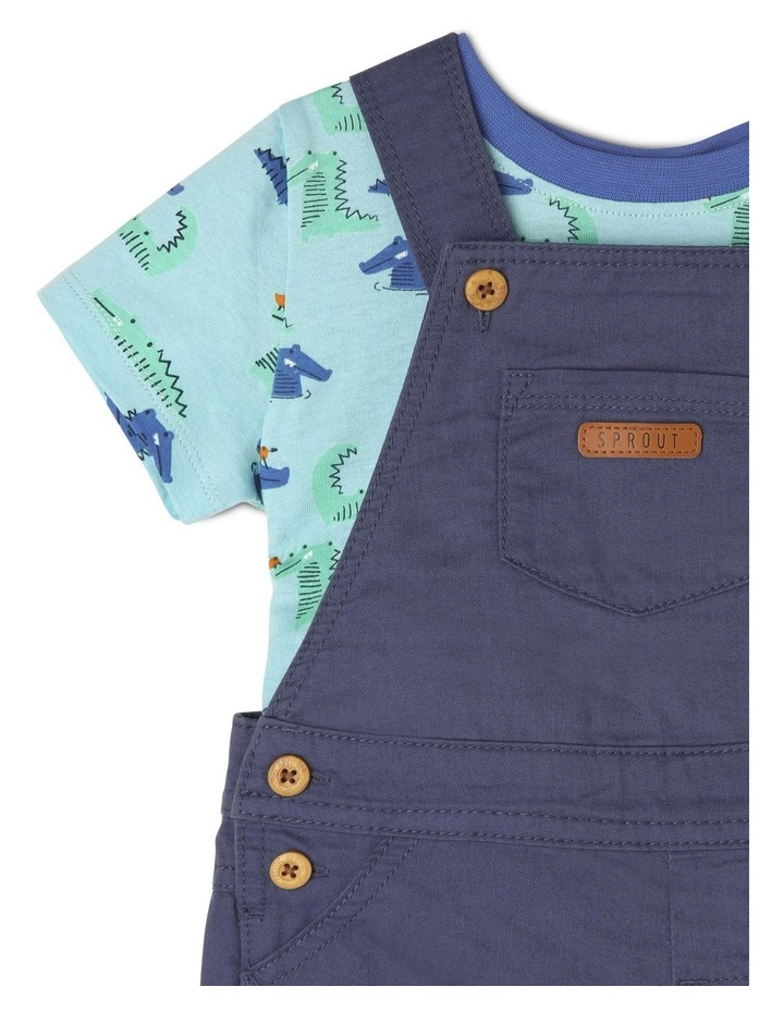 Boys Overall And T-Shirt Set image 3