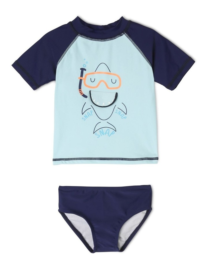 Shark Rashy & Brief Set image 1