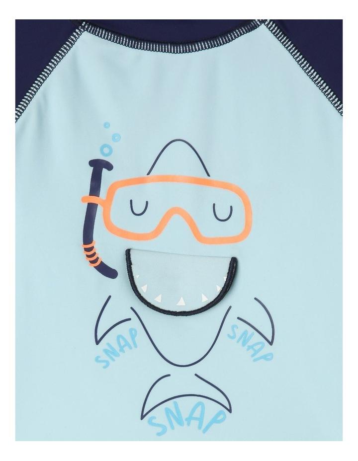 Shark Rashy & Brief Set image 2