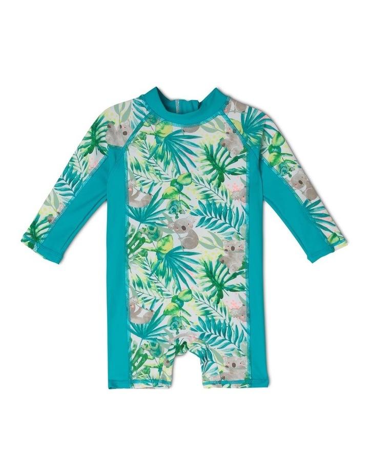 Boys Long Sleeve Swimsuit image 1
