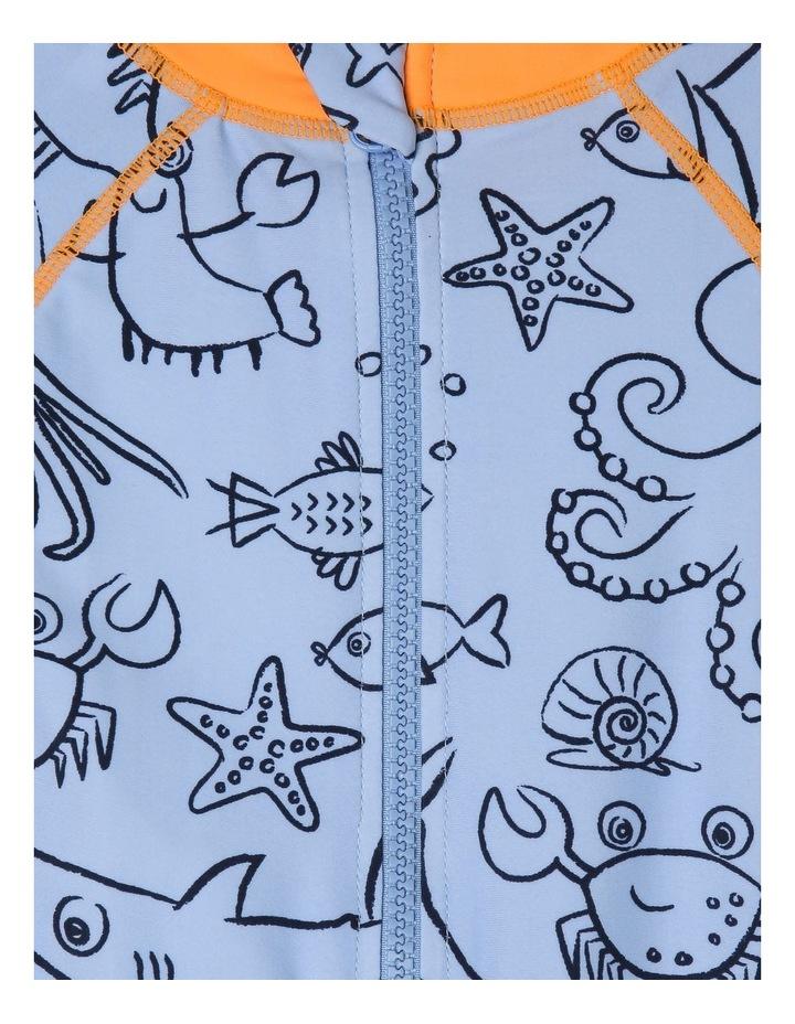 Short-Sleeve Crab Swimsuit image 3