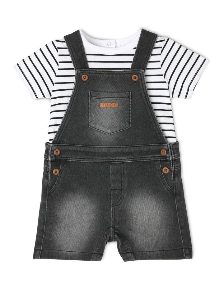 Knit Overall Set image 1