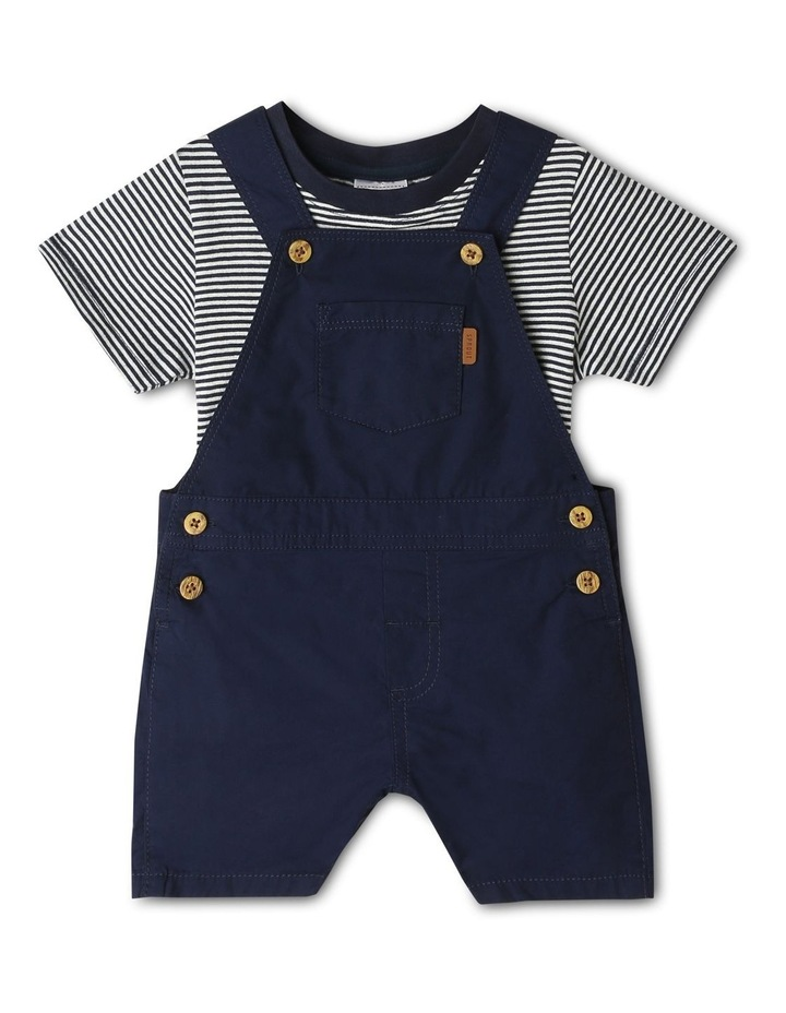 Overall And Short Sleeve Tee Set image 1