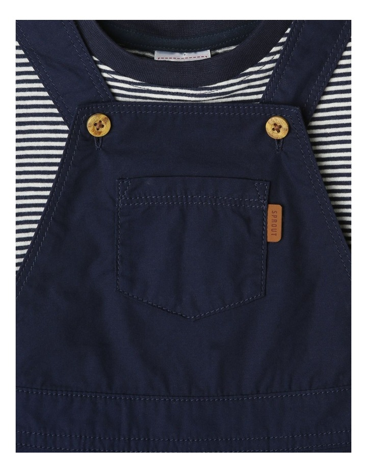 Overall And Short Sleeve Tee Set image 2