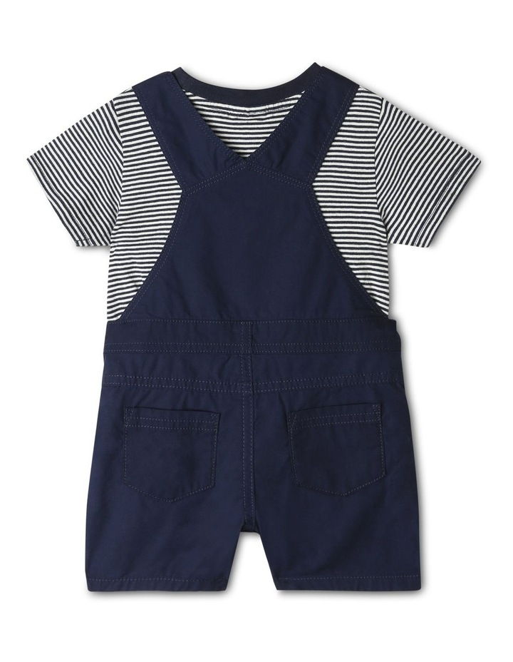 Overall And Short Sleeve Tee Set image 4