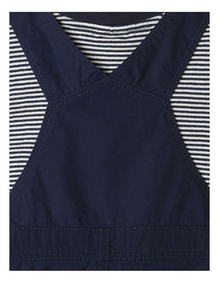 Overall And Short Sleeve Tee Set image 5