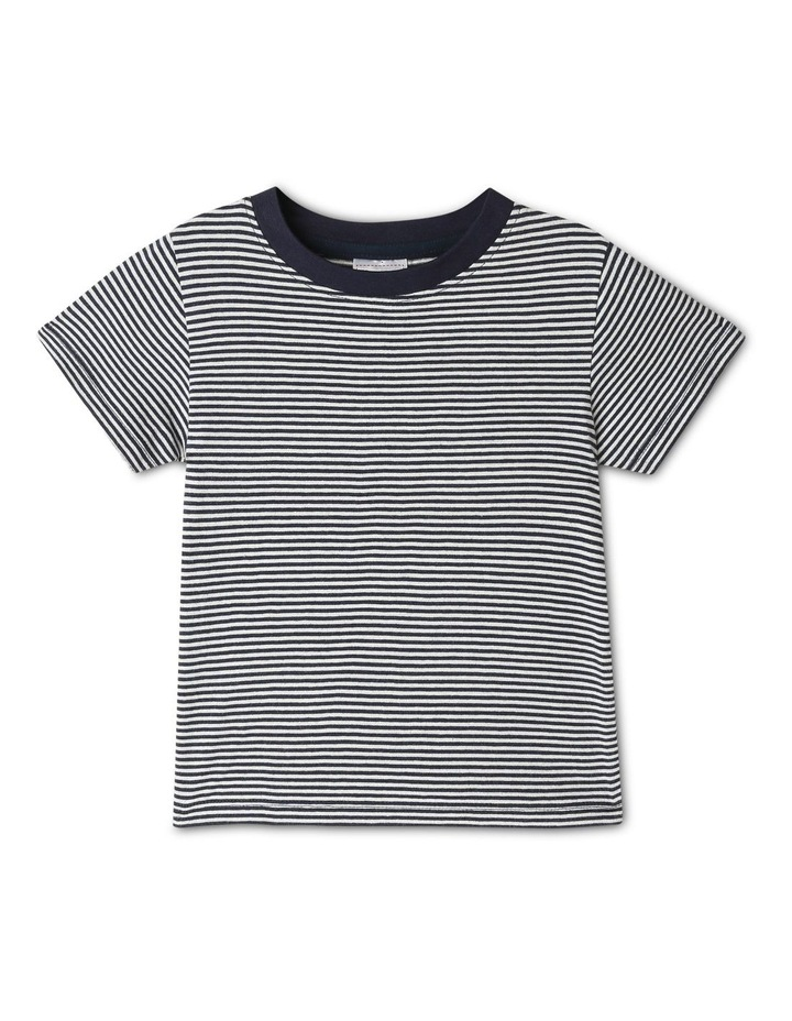 Overall And Short Sleeve Tee Set image 7
