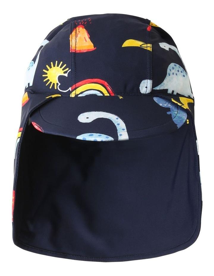 Rainbow Dinos Swim Hat image 1
