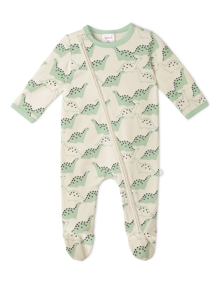 Organic Essential Hiking Dino Coverall image 1