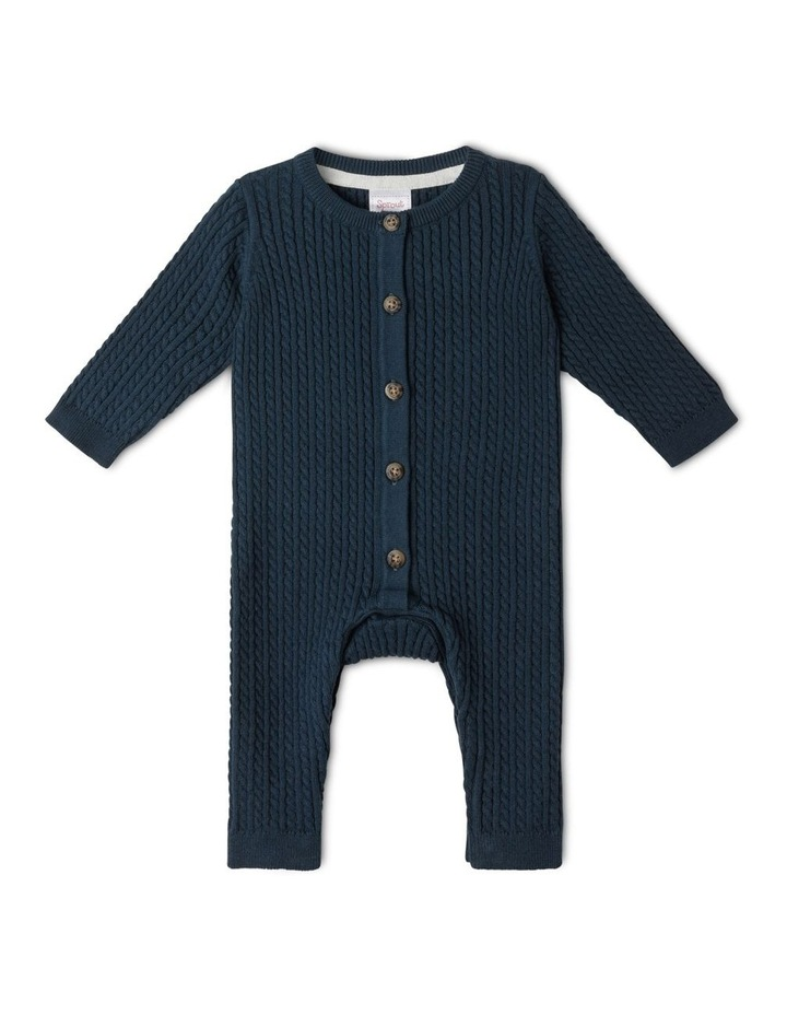 Organic Cable Knit Coverall image 1