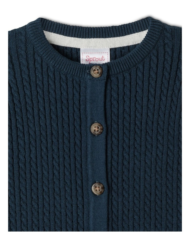 Organic Cable Knit Coverall image 2