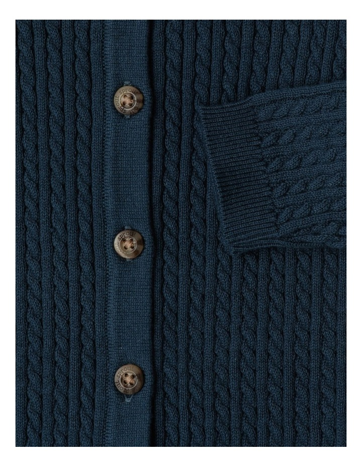 Organic Cable Knit Coverall image 3