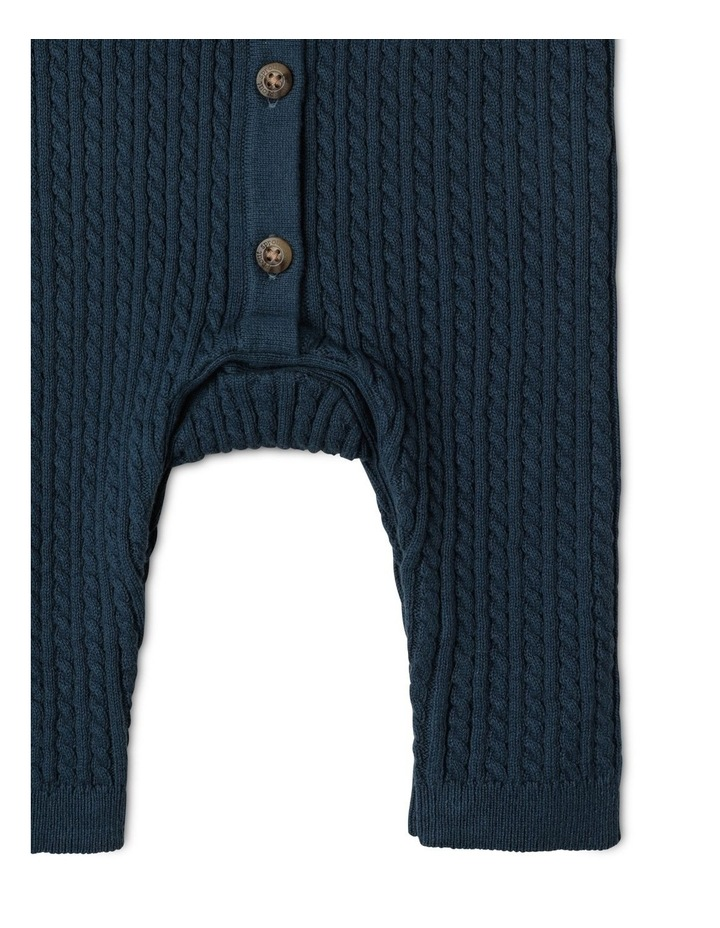 Organic Cable Knit Coverall image 4