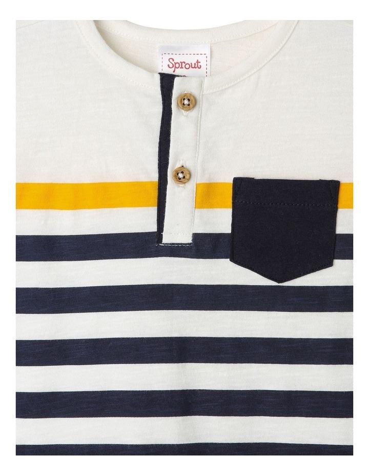Hudson Stripe Henley Tee & Short Set image 2