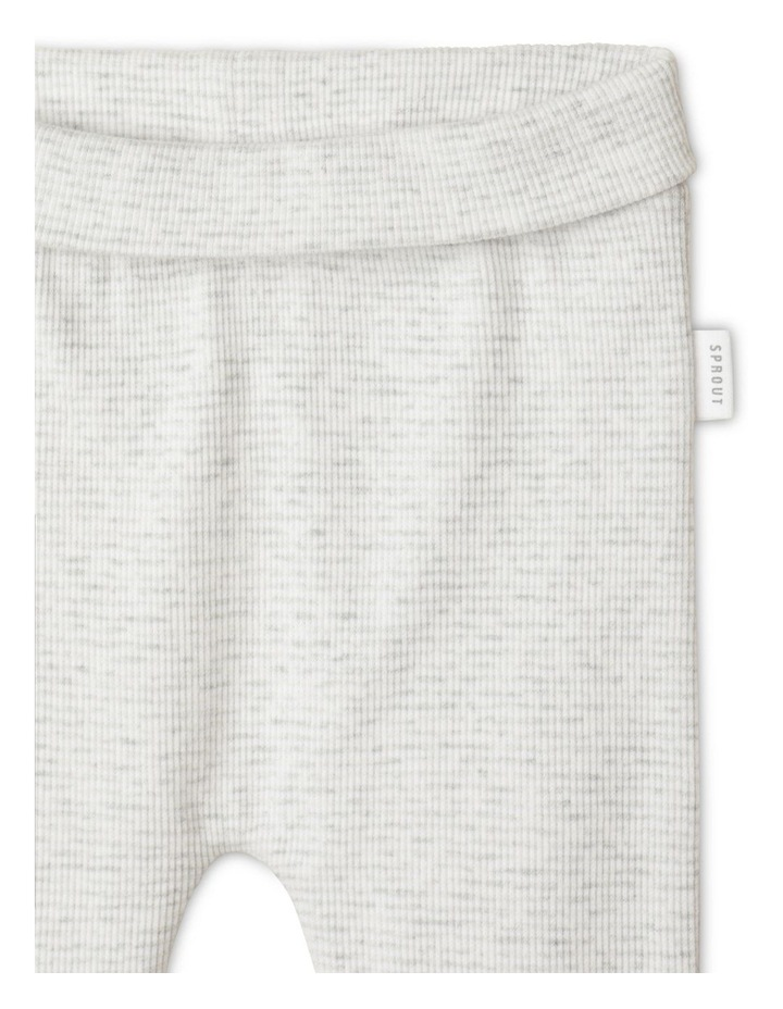 Maurice 3-Piece Bodysuit Set in Grey Marle image 5