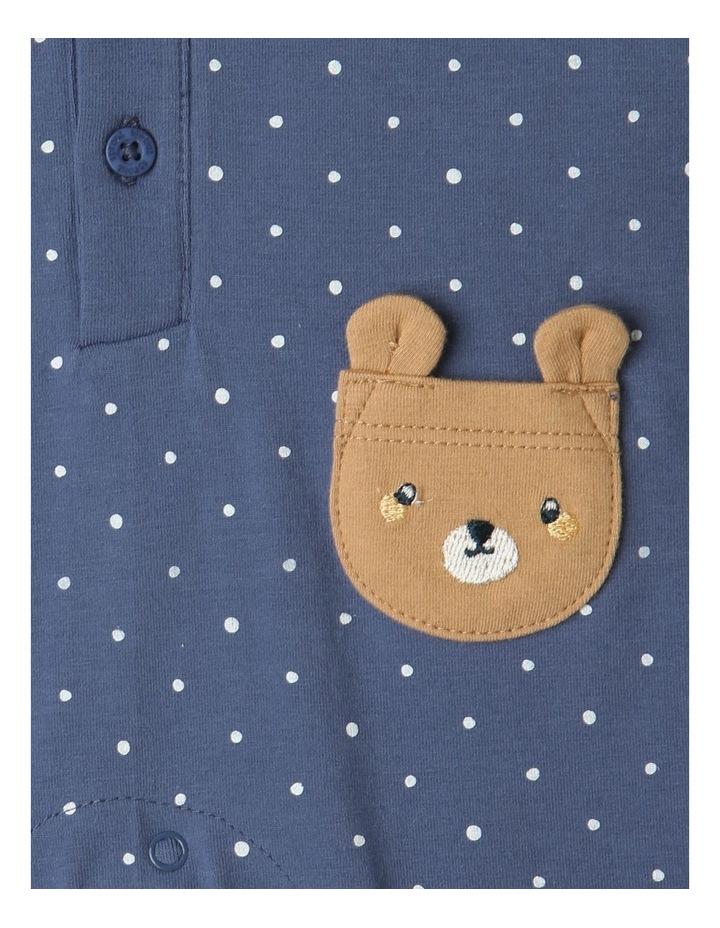 Hayden Bear Pockets Coverall Navy image 2