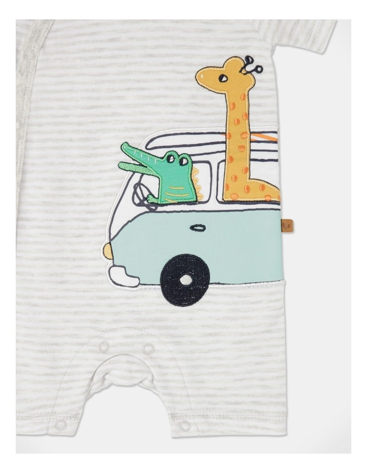 Giraffe & Croc Combi Romper image 2