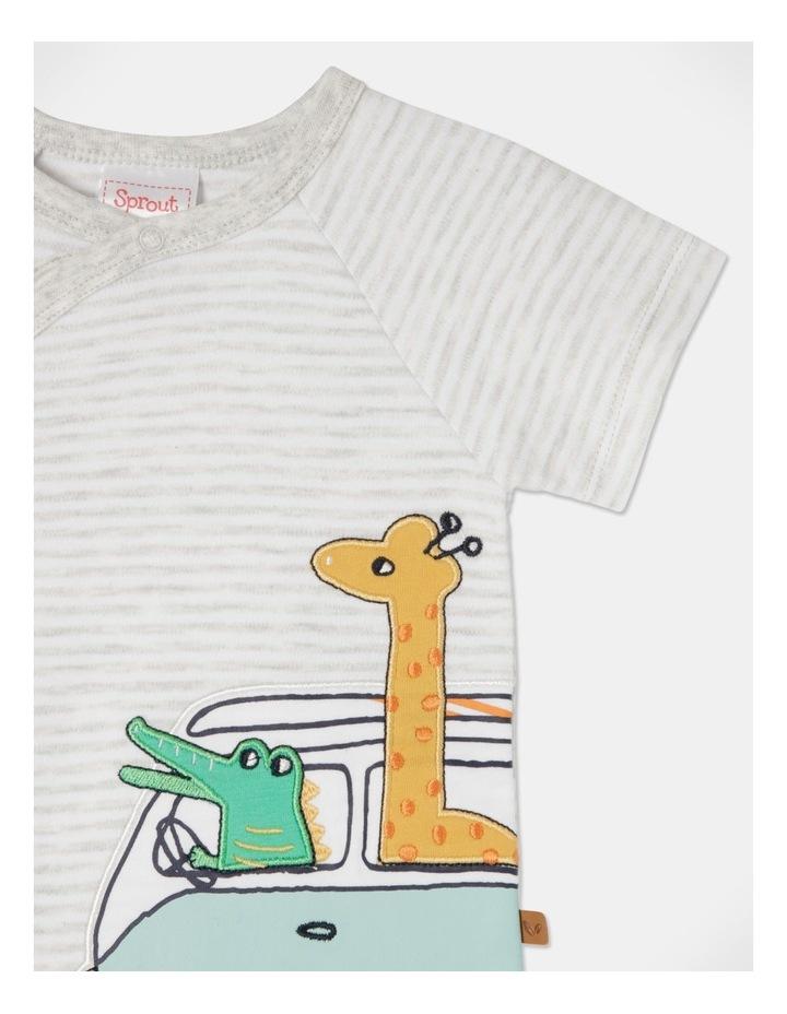 Giraffe & Croc Combi Romper image 4