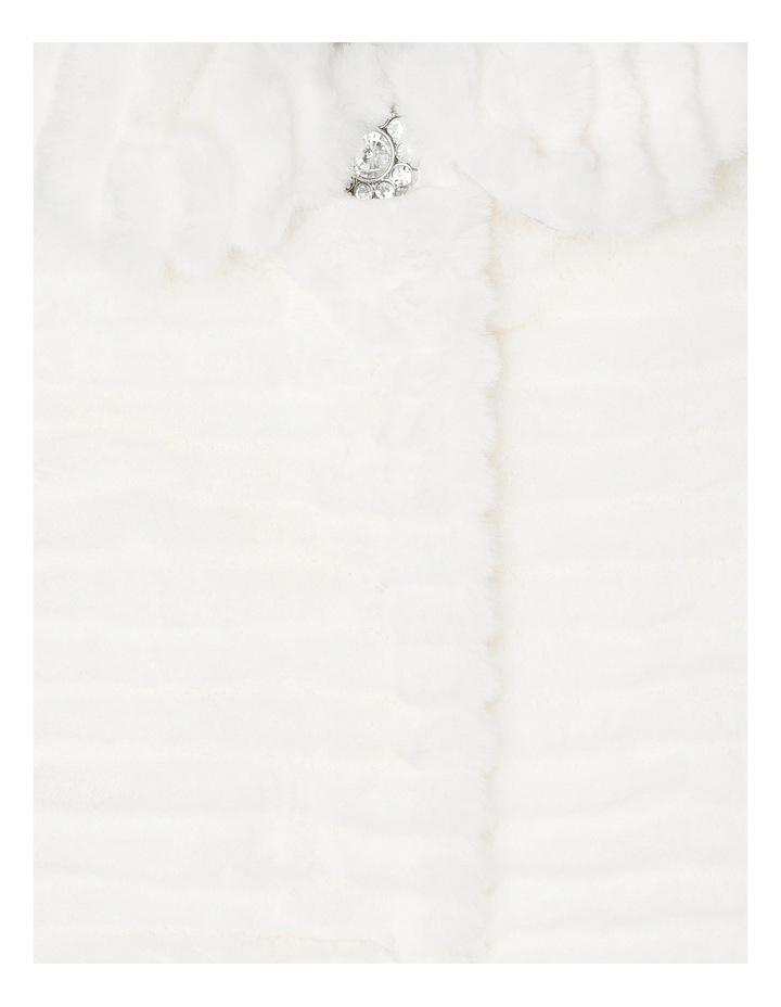 Faux Fur Jacket - Pearl 0-2 image 2