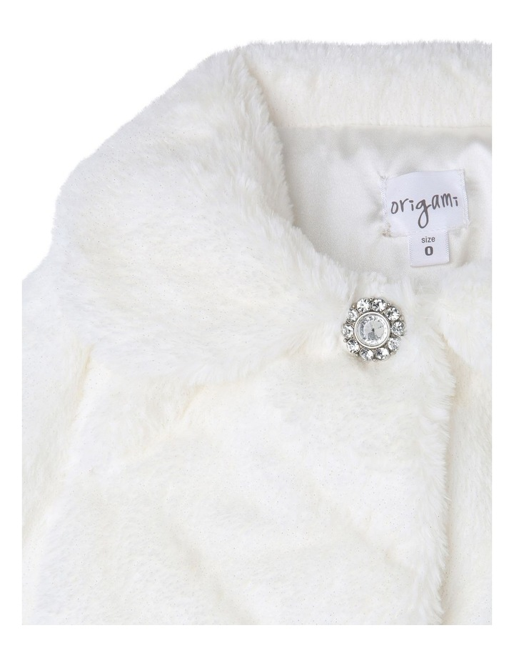 Ava Faux Fur Jacket (9-16 Years) image 2