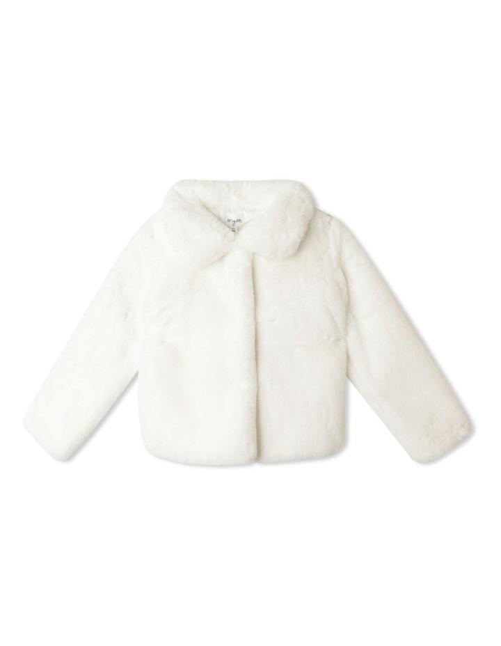 Pearl Faux Fur Jacket (9-16 Years) image 1