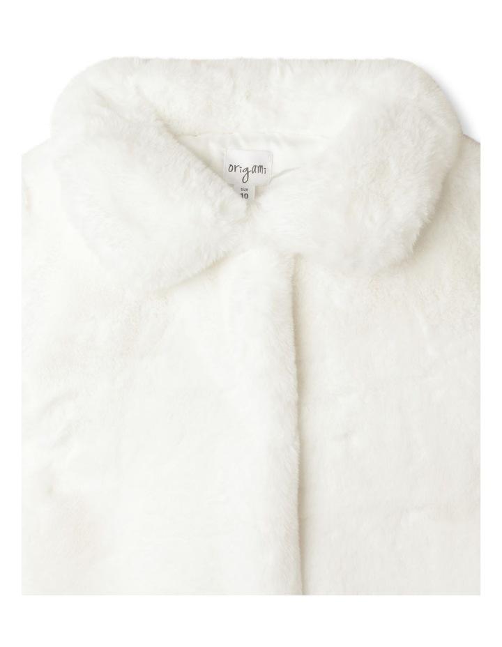 Pearl Faux Fur Jacket (9-16 Years) image 2