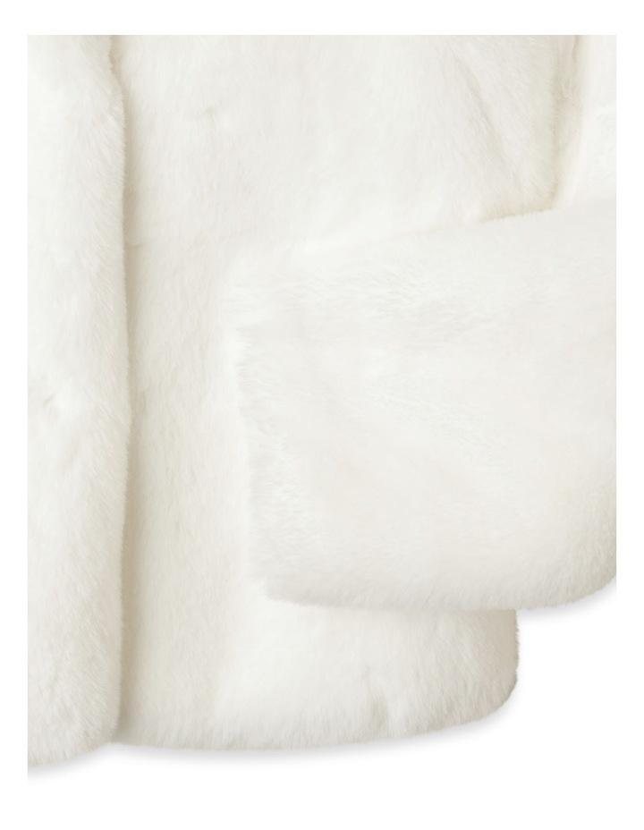 Pearl Faux Fur Jacket (9-16 Years) image 3