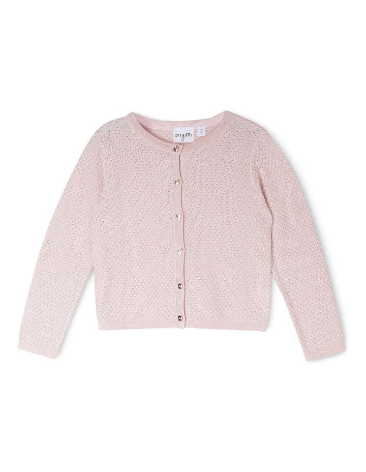 MIA SPARKLE KNITTED CARDIGAN (3-8 YEARS) image 1