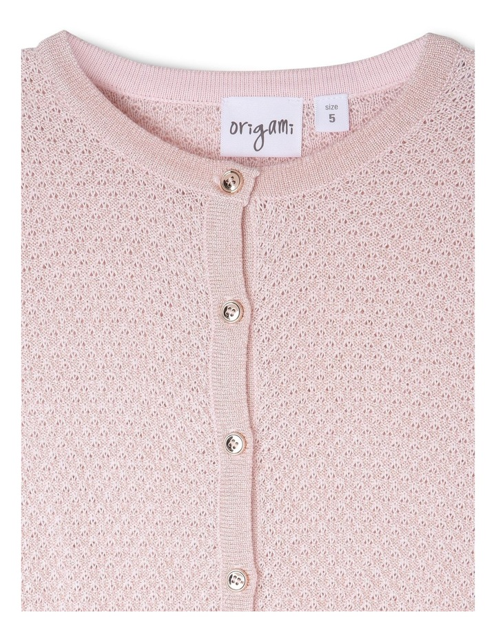 MIA SPARKLE KNITTED CARDIGAN (3-8 YEARS) image 2