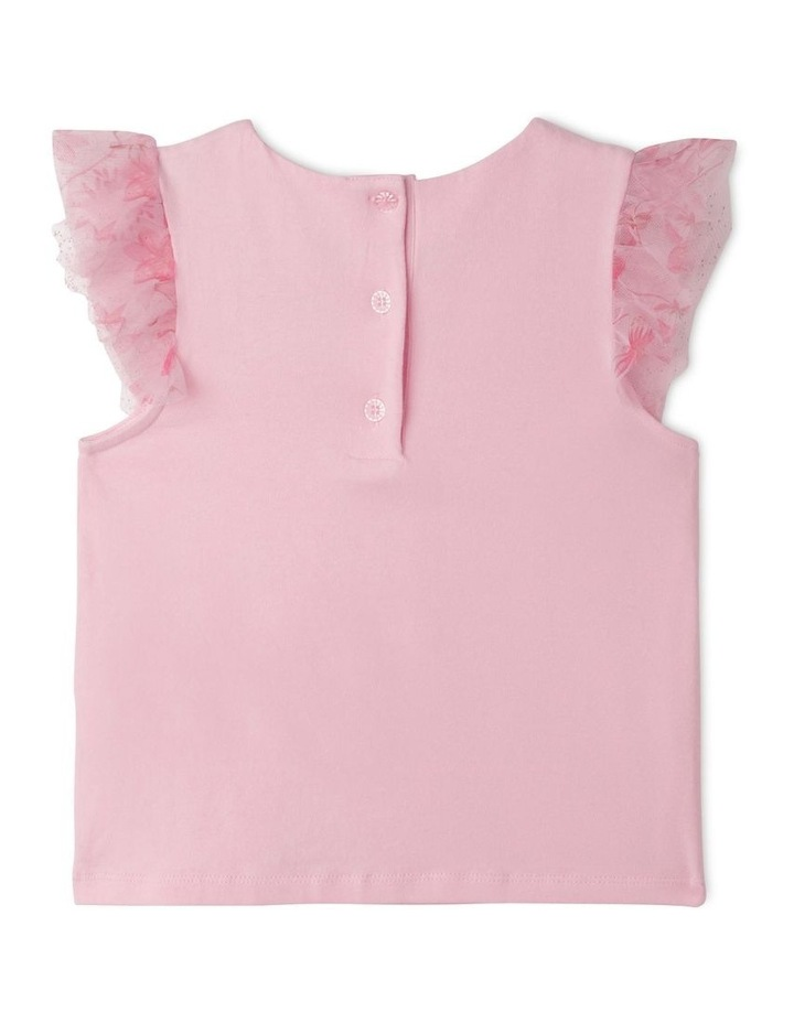 Maisie Chiffon Flutter Sleeve Top (1-8 Years) image 4