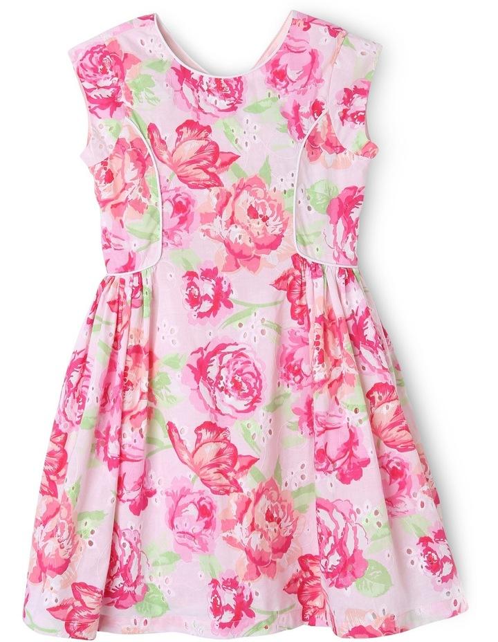 Floral Print Broderie Sundress 3-8 image 1
