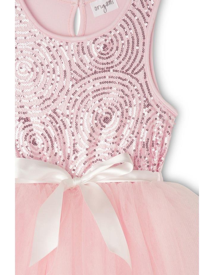 Spiral Sequin Tutu - Pink image 3