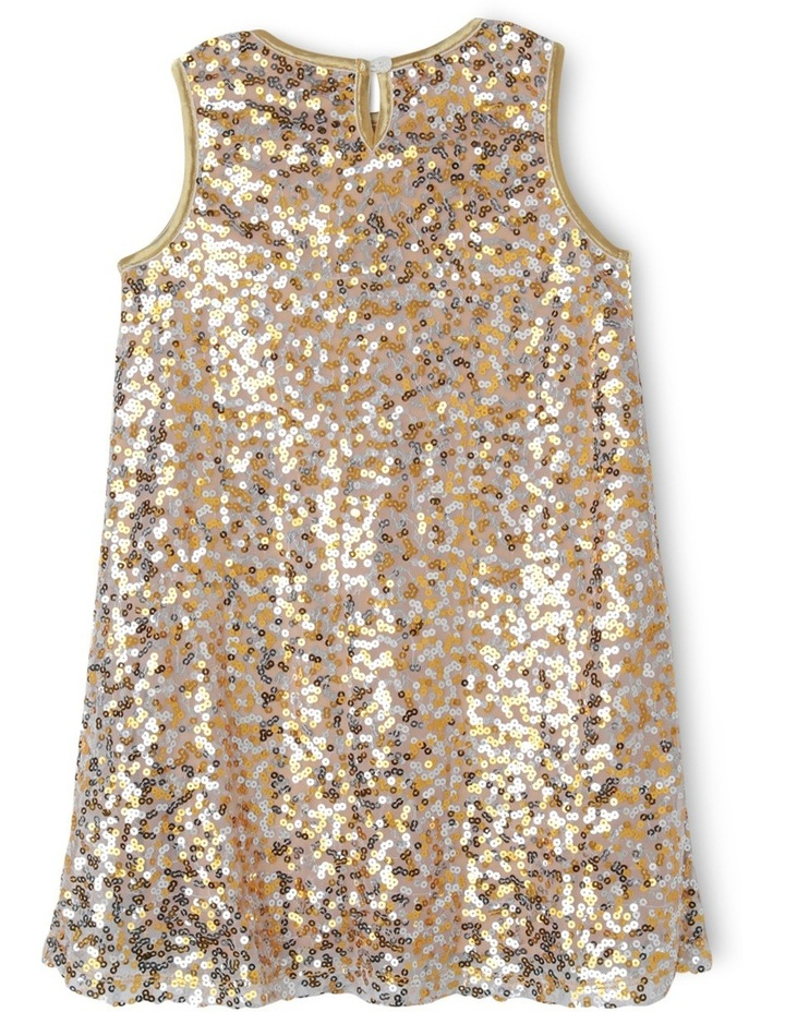 JG Sequin Shift Dress with Cap Sleeves image 2