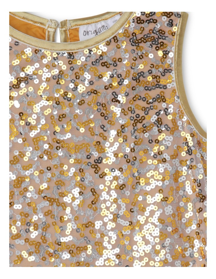 JG Sequin Shift Dress with Cap Sleeves image 3