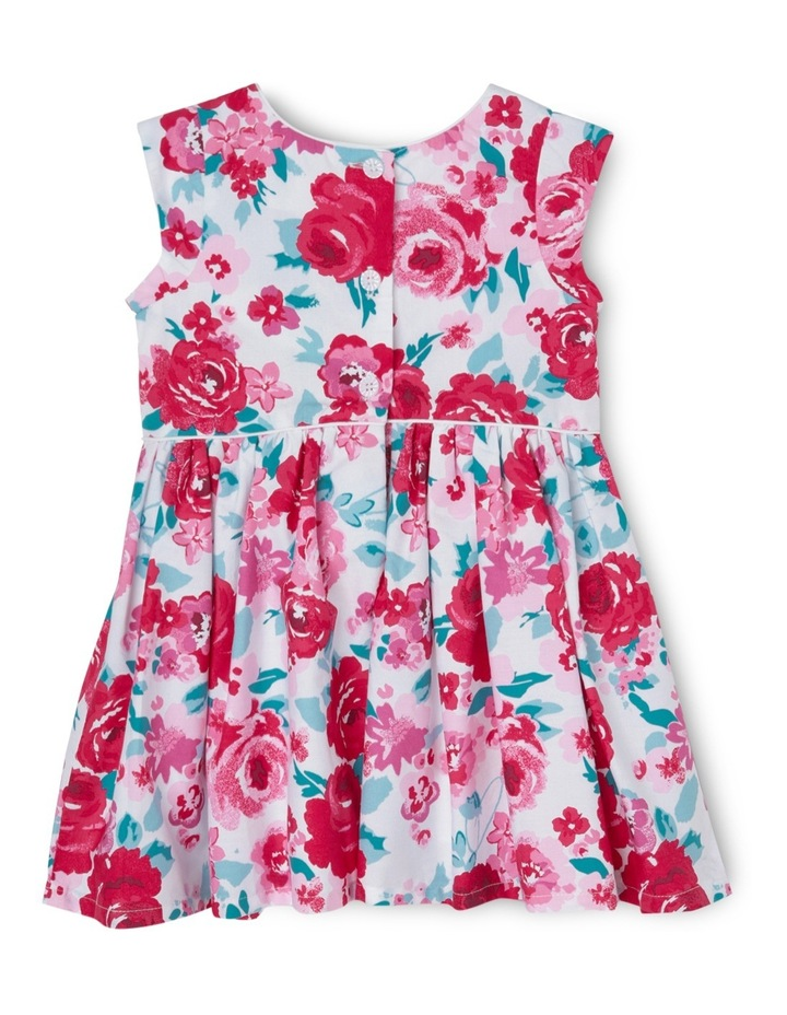 Rose Print Piped Dress - Toddler 0-2 image 2