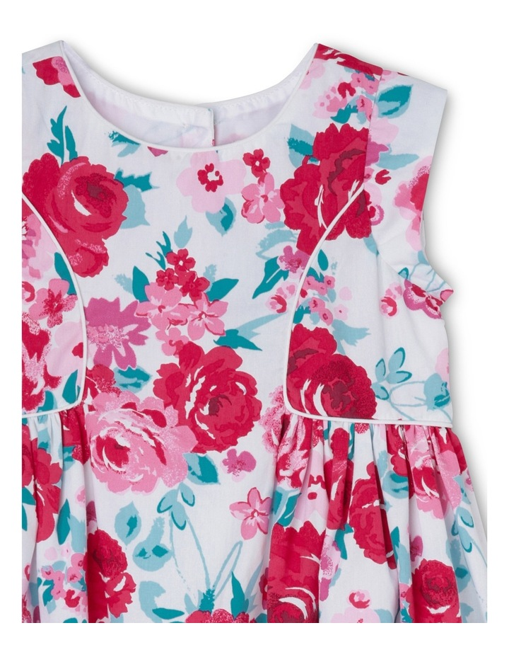 Rose Print Piped Dress - Toddler 0-2 image 3