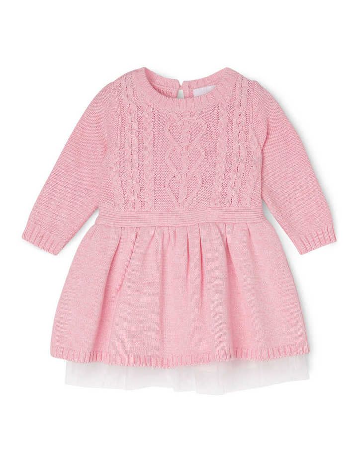 Cable Knit Dress 0-2 image 1