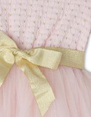 Origami - Daisy Tutu. Pink/Gold. Toddler 0-2.