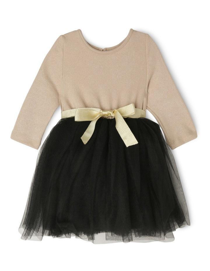 Gold Glitter Black Skirt Tutu - Toddler 0-2. image 1
