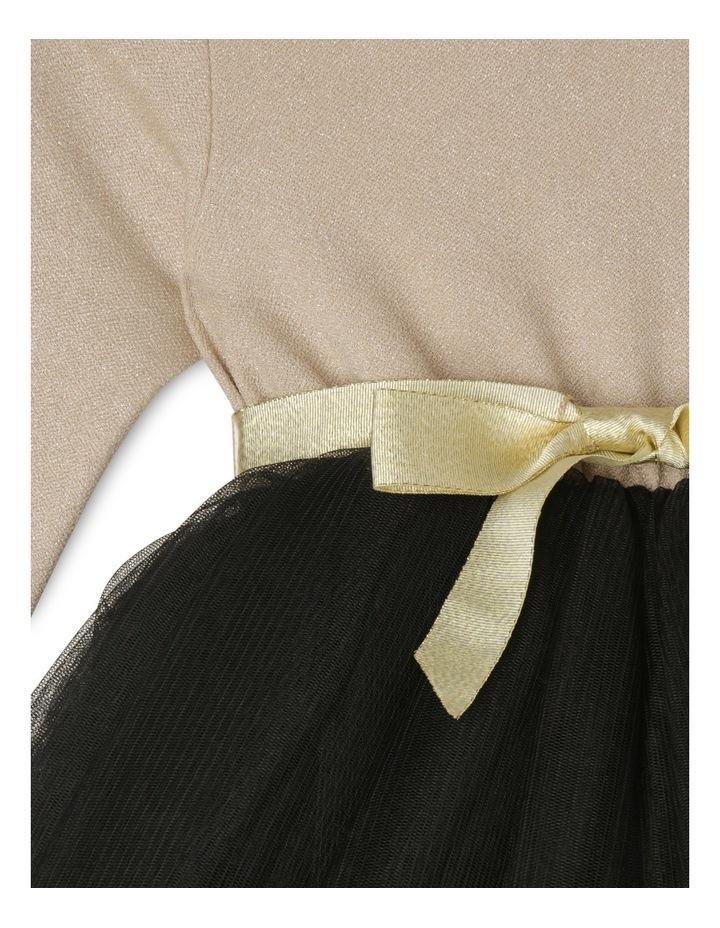 Gold Glitter Black Skirt Tutu - Toddler 0-2. image 2